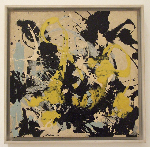 No. 22 by Jackson Pollock in the Philadelphia Museum of Art, January 2012