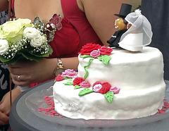 Die Hochzeitstorte
