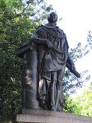duke of kent statue, park crescent, marylebone, london