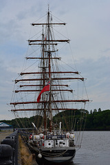 Tall Ship,Stavros S.Niarchos. At Spillers Wharf Newcastle