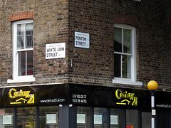 White Lion & Penton Streets