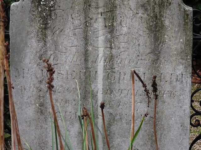 Joseph Grimaldi Headstone