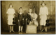 Youngest String Quartet in the World, 1924