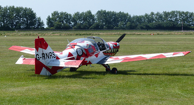 G-RNRS at Goodwood - 1 July 2014