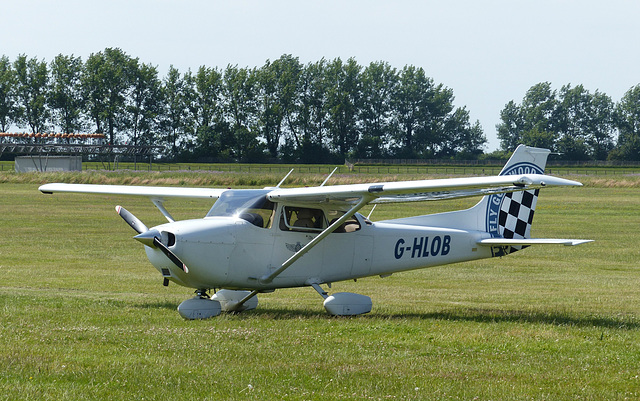 G-HLOB at Goodwood - 1 July 2014