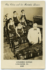 Reg Kehoe and His Marimba Queens, Lancaster, Pa.