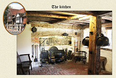 Anne of Cleves' house - The kitchen - Lewes 23 7 2014