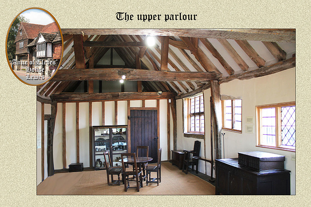 Anne of Cleves' house - the upper parlour - Lewes 23 7 2014