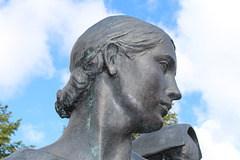 Detail of Leverhume Memorial by Sir William Reid Dick, Port Sunlight, Wirral