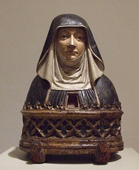 Reliquary Bust of a Benedictine Nun in the Philadelphia Museum of Art, January 2012