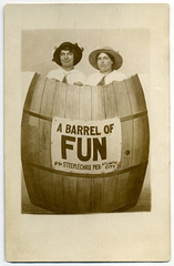 A Barrel of Fun at the Steeplechase Pier, Atlantic City, N.J.