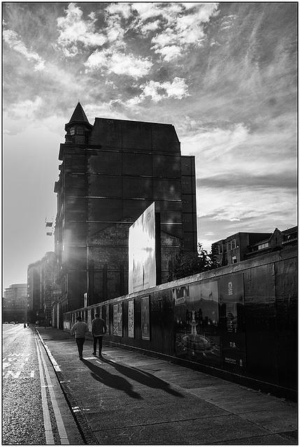 Glasgow streets.