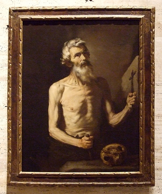 St. Onophrius by Ribera in the Boston Museum of Fine Arts, July 2011