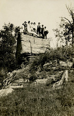 A Small Crowd on a Big Rock