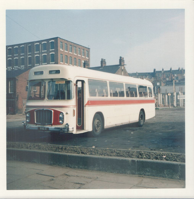 Red and White Services SAX 1G at Rochdale - 27 May 1973
