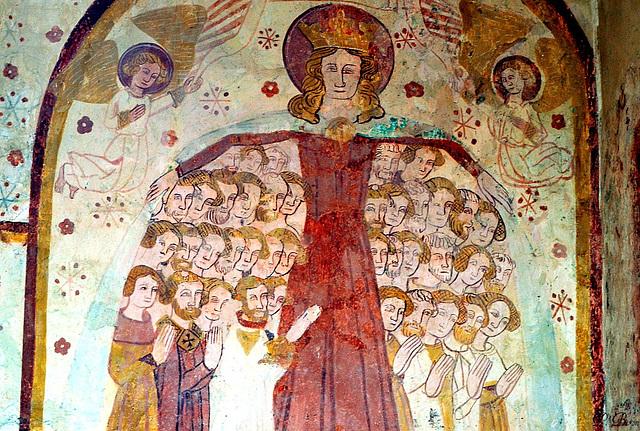 Vierge au manteau - Eglise de St-Céneri-le-Gérei - Orne