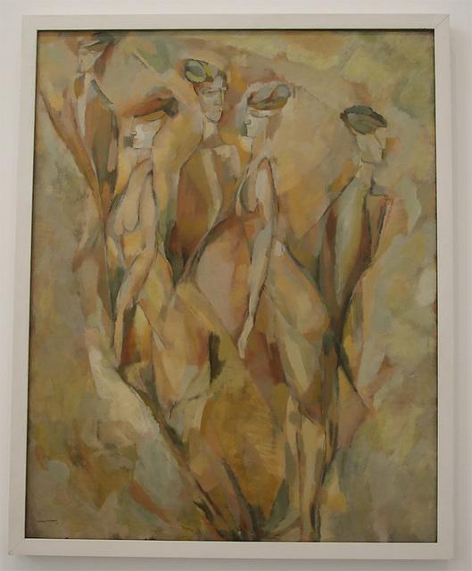 Portrait (Dulcinea) by Duchamp in the Philadelphia Museum of Art, January 2012