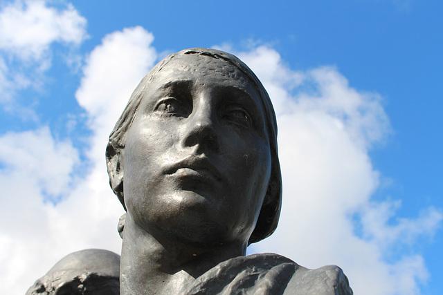 Detail of Leverhume Memorial by Sir William Reid Dick, Port Sunlight, Wirral