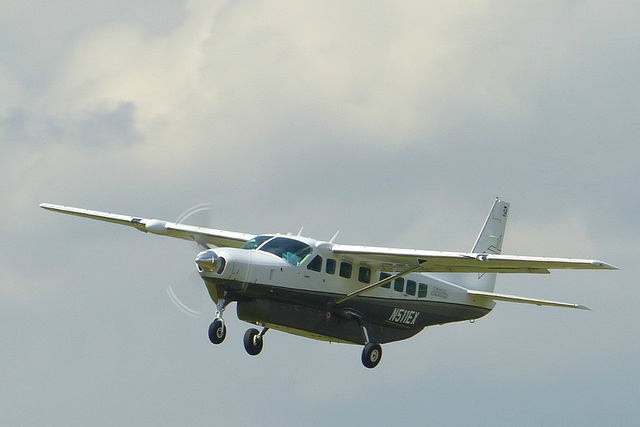 N511EX departing from Goodwood  - 1 July 2014