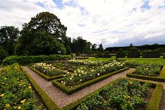 Garden of castle Amerongen