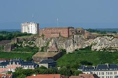 BELFORT: Vue du chateau.
