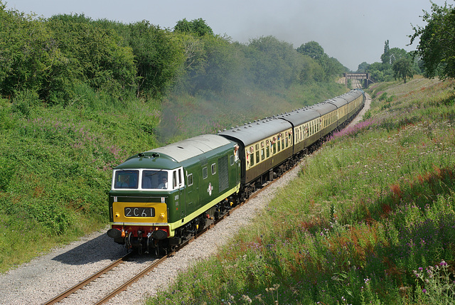 'Hymek' - D7017, East Lodge - GWR.