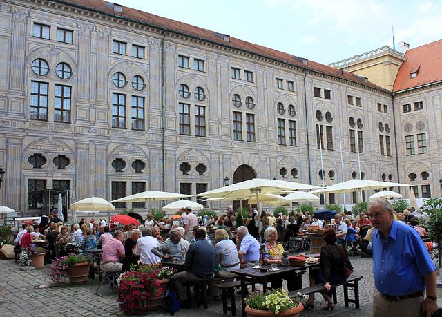 Kaiserhof der Münchner Residenz