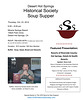 Soup Supper Oct 2014