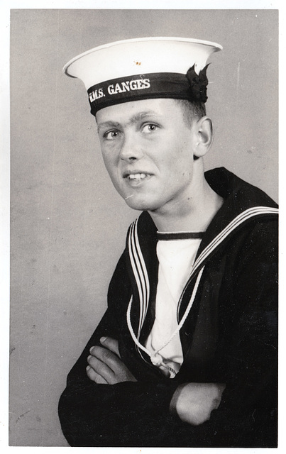 John David Carlton, HMS Ganges, Suffolk