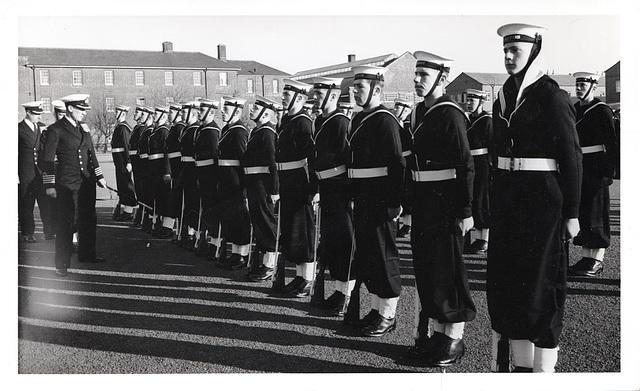 Inspection at Shotley Barracks Suffolk