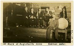 All Stars at Augustaville Dance, Jan. 21, 1933