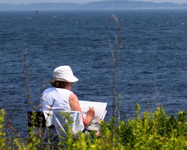 Island artist, Peaks
