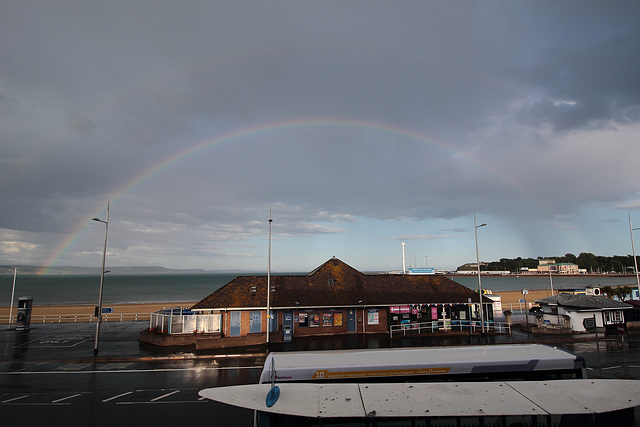 Double rainbow, Weymouth