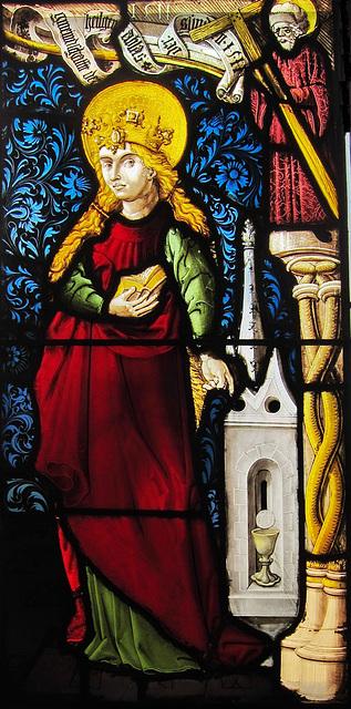 Die heilige Barbara