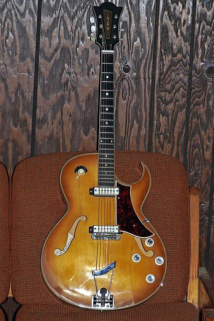 Eko 285 Hollow-Body Electric Guitar
