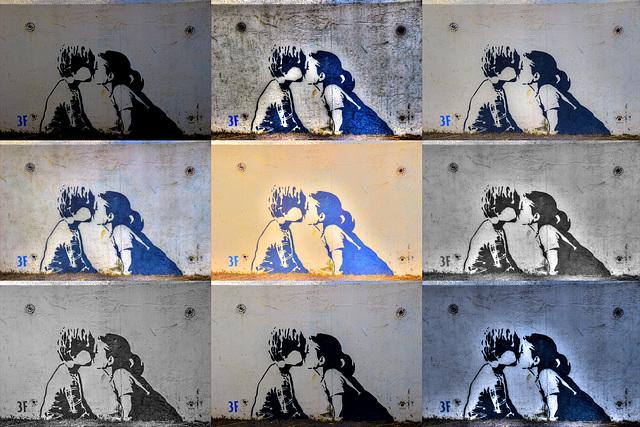 Saltburn Street art
