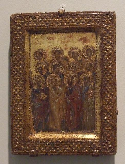Twelve Apostles Icon in the Princeton University Art Museum, July 2011