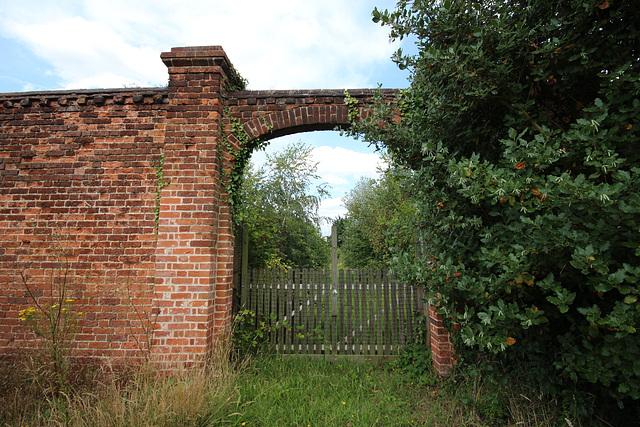 Walled Garden, Woolverstone Park, Suffolk