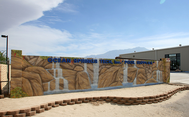 Expansion of Ocean Tech Mural by John Coleman (4700)