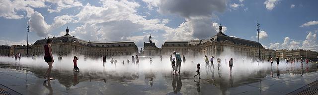 Place de la Bourse [Bordeaux - juin 2014]