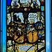 1603 : Allianzwappenscheibe von Hans.J. Stocker und Susanna. B. von Solothurn
