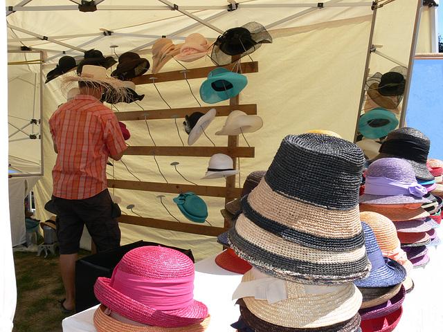 Der Hutmacher am Fest
