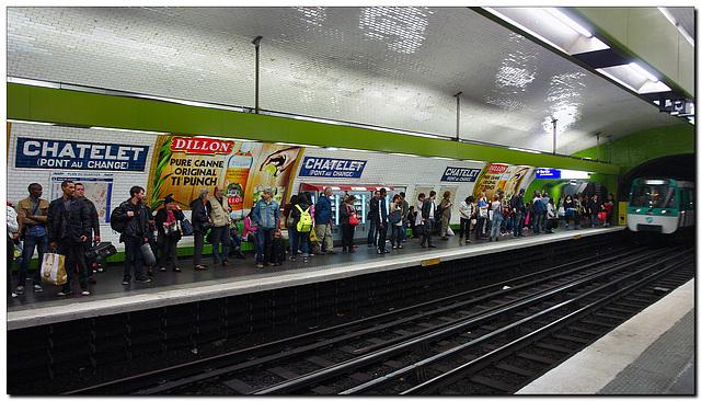 Metro Chatelet