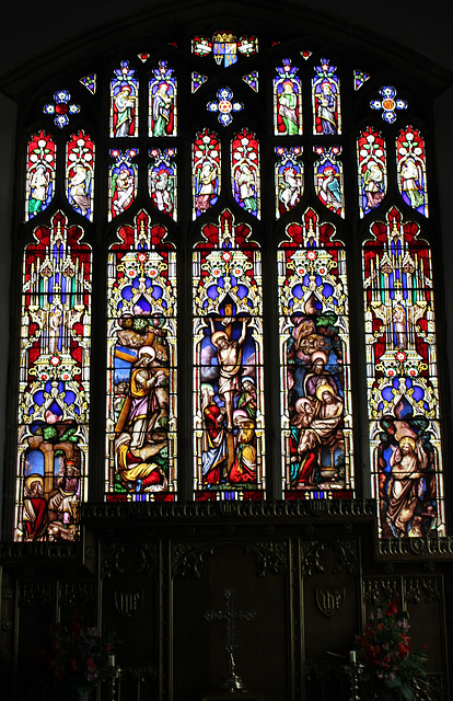 East  Window, Staindrop Church, County Durham