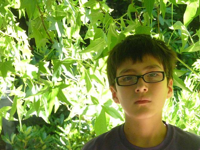 Tomás en el parque
