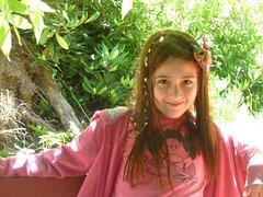 Florencia sonriendo