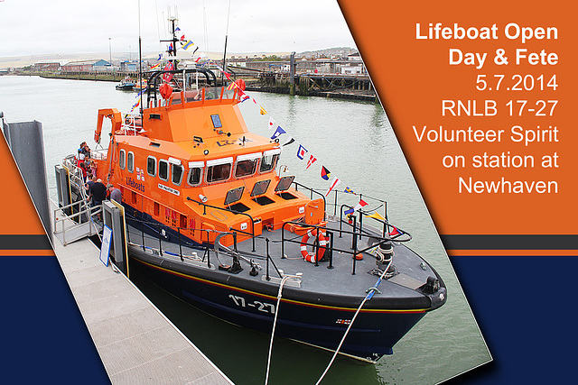 RNLB 17-27 - Newhaven Open Day & Fete - 5.7.2014