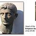 Augustus' head c 26BC - Ashmolean Museum - 24.6.2014 - photo by Dan Sutters