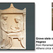 Greek grave stele 400BC - The Ashmolean Museum - Oxford - 24.6.2014