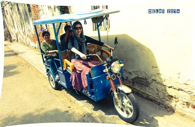Ride the Rickshaw